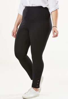 Snap Ponte Legging,