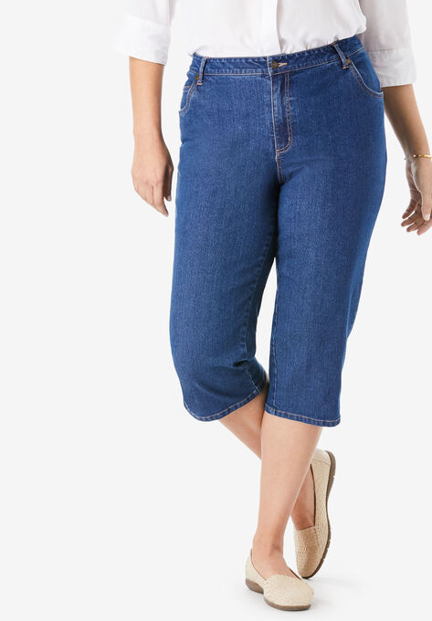 645c12444d695 Capri Stretch Jean