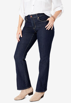 d39b2f04f0990 Signature by Levi Strauss   Co.™ Gold Label Women s Plus Totally Shaping  Boot Cut Jeans