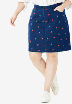Seaside Collection Printed Summer Skort,