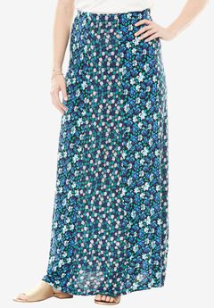 Spliced Maxi Skirt by Chelsea Studio®,