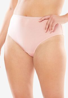 High-Cut Brief by Comfort Choice®, ROSE NUDE