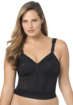Soft Cup Longline Bra by Exquisite Form®,