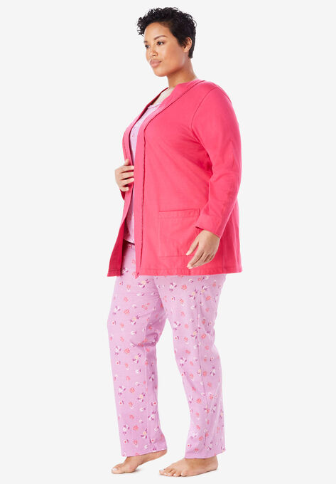 5eb5908039 3-Piece Cotton Pajama Set by Only Necessities®
