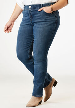 Flex Motion Straight Leg Jean by Lee®, RAYNE