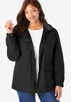 Fleece-Lined Taslon® Jacket,