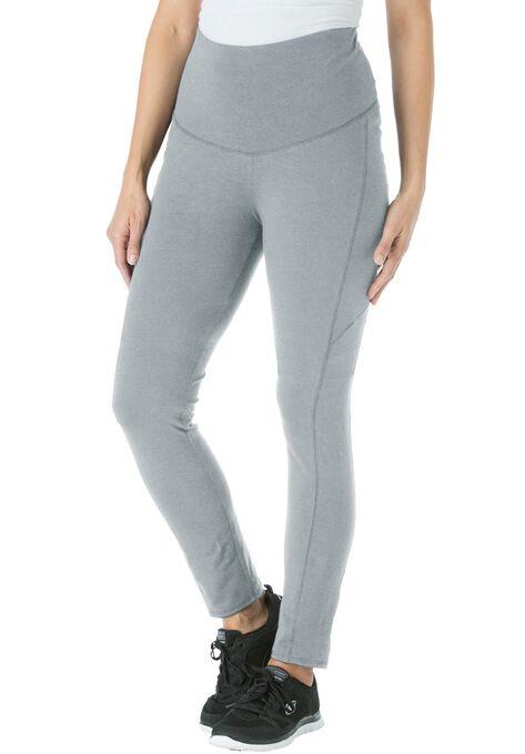 b2e83683209b9 Smooth waist tummy control leggings| Plus Size Tall | Woman Within