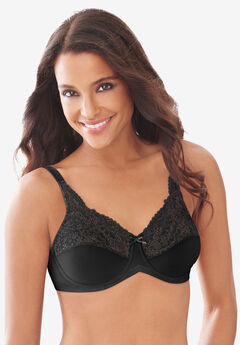 Lilyette® by Bali® Lace-Trim Tailored Minimizer® Bra #428,