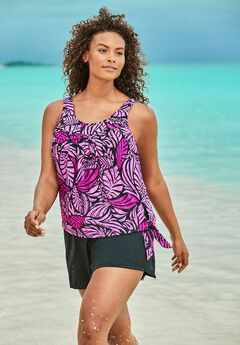 2-Piece Blouson Swim Set,