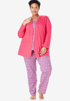 11ffad4859 3-Piece Cotton Pajama Set by Only Necessities®