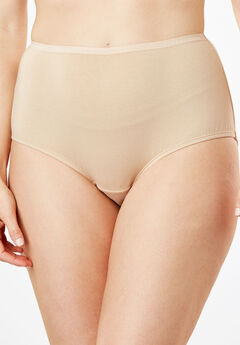 Full-Cut Brief by Comfort Choice®, NUDE