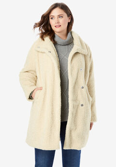 Fluffy Sherpa Coat,