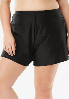 Loose Swim Short with Built-In Brief,