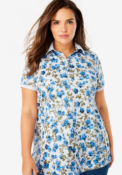Perfect Printed Polo Shirt,