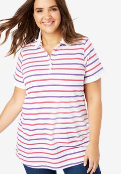 fb1876faff9 Plus Size Polo Shirts for Women