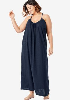 b0799f75643 Breezy Eyelet Knit Long Nightgown by Dreams   Co.®