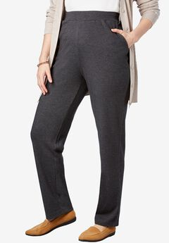7-Day Knit Straight Leg, HEATHER CHARCOAL, hi-res