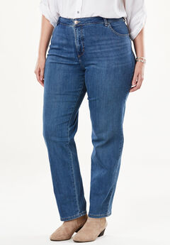 Classic Fit Slimming Jean by Lee®, PEARL