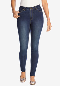 Perfect Skinny Jean, DARK SANDED WASH