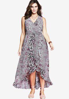 Ruffle Maxi Dress by Chelsea Studio®,