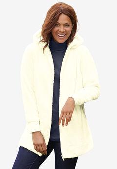 Fleece Hooded Jacket,