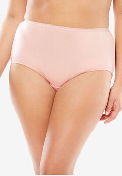 Full-Cut Brief by Comfort Choice®, ROSE NUDE