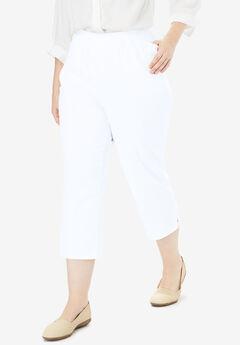 Capri Fineline Jean, WHITE