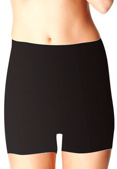 The Ultimate Everyday Shaping Boyshort by Body Hush™ , BLACK, hi-res