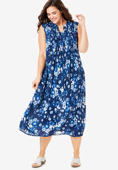 Plus Size Sundresses and Crinkle Dresses | Woman Within
