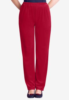 Velour Pant, CLASSIC RED