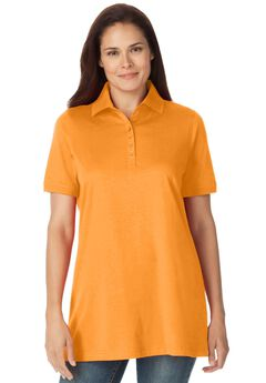 Perfect Short Sleeve Polo Tee,