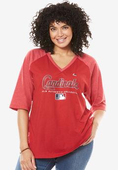 MLB Raglan Tee , CARDINALS, hi-res