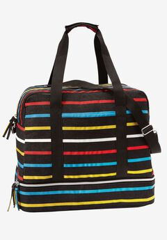 Weekender travel bag, MULTI STRIPE, hi-res