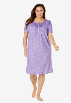 Dreams & Co® Pintuck Cooling Sleepshirt,