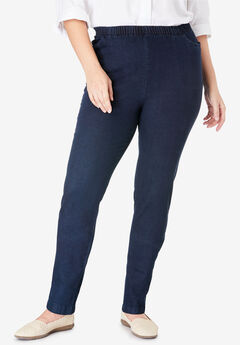 Fineline Denim Jegging, INDIGO
