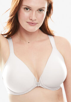 Leading Lady® Brigitte Racerback Front-Close Seamless Underwire Bra #5415,