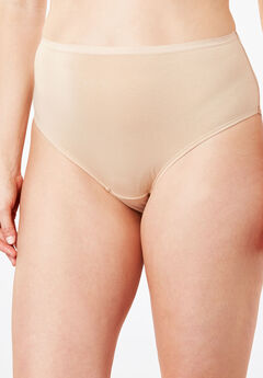 High-Cut Brief by Comfort Choice®, NUDE