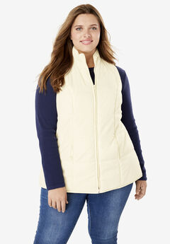 Quilted Vest,