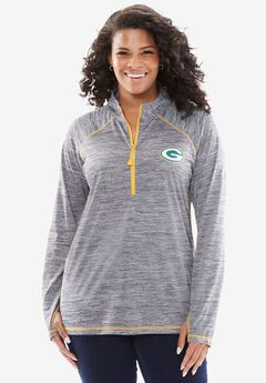 NFL Half-zip Mock Turtleneck,