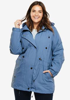 Weather-Resistant Taslon® Anorak, FRENCH BLUE