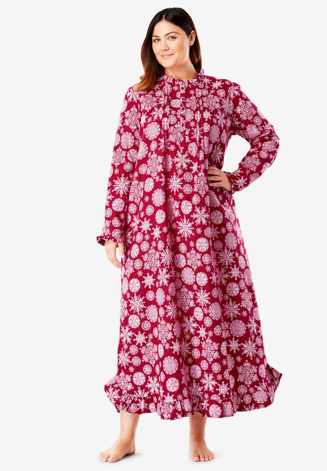 3691b7a34c Long Flannel Nightgown by Only Necessities®