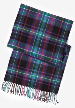 Plaid scarf,