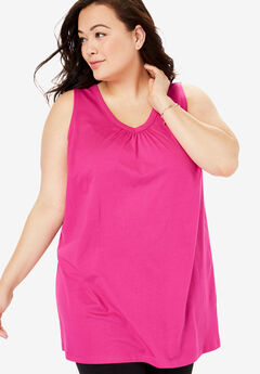 7be2961aeee5a Plus Size Casual Tank Tops for Women
