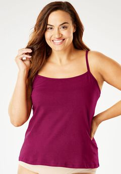 Stretch Cotton Camisole by Comfort Choice®,