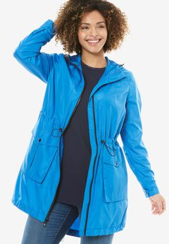 Packable Windbreaker, LIGHT SAPPHIRE, hi-res