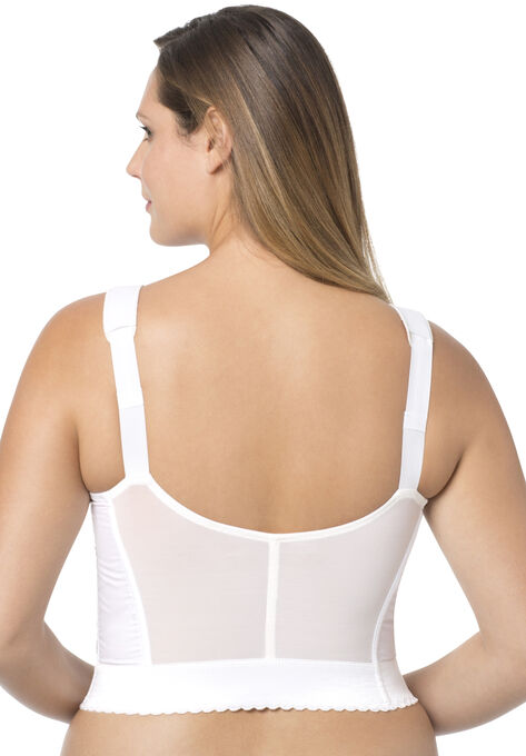 5be433908 Exquisite Form® Fully® Front-Close Wireless Longline Posture Bra  5107530