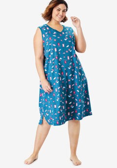 Sleeveless Sleepshirt by Dreams & Co.®,