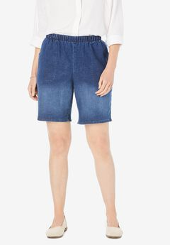 Fineline Denim Short,