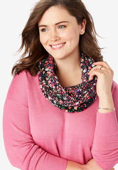 Printed Infinity Scarf,
