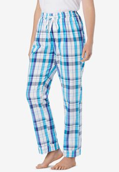 Cotton Poplin PJ Pant ,